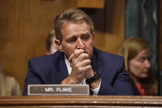 Arizona's Flake Dismisses Fraud Claim in Race to Succeed Him