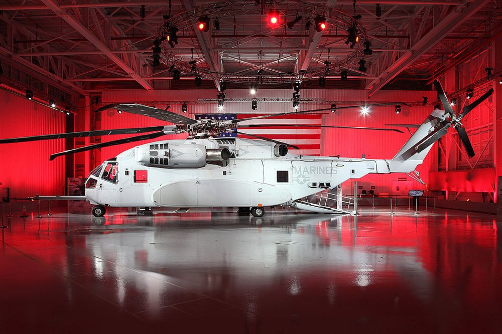 Lockheed's $31 Billion Marine Helicopters Are Running 19 Months Late