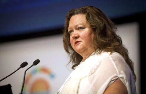 Billionaire Gina Rinehart