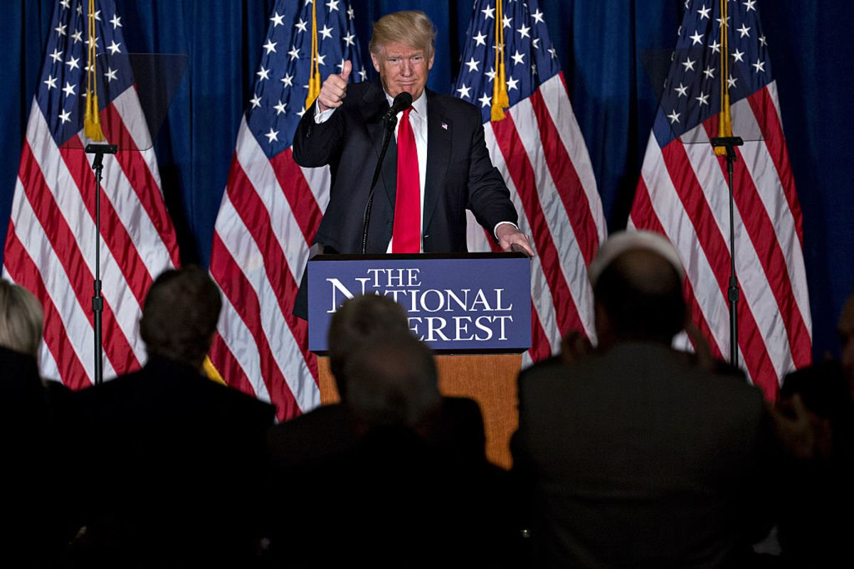 will donald trump go rogue in the war on terror view