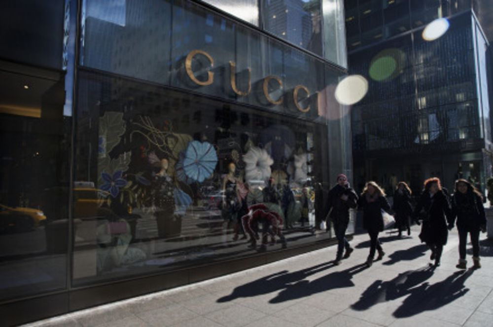 Gucci store on 5th Avenue in New York.