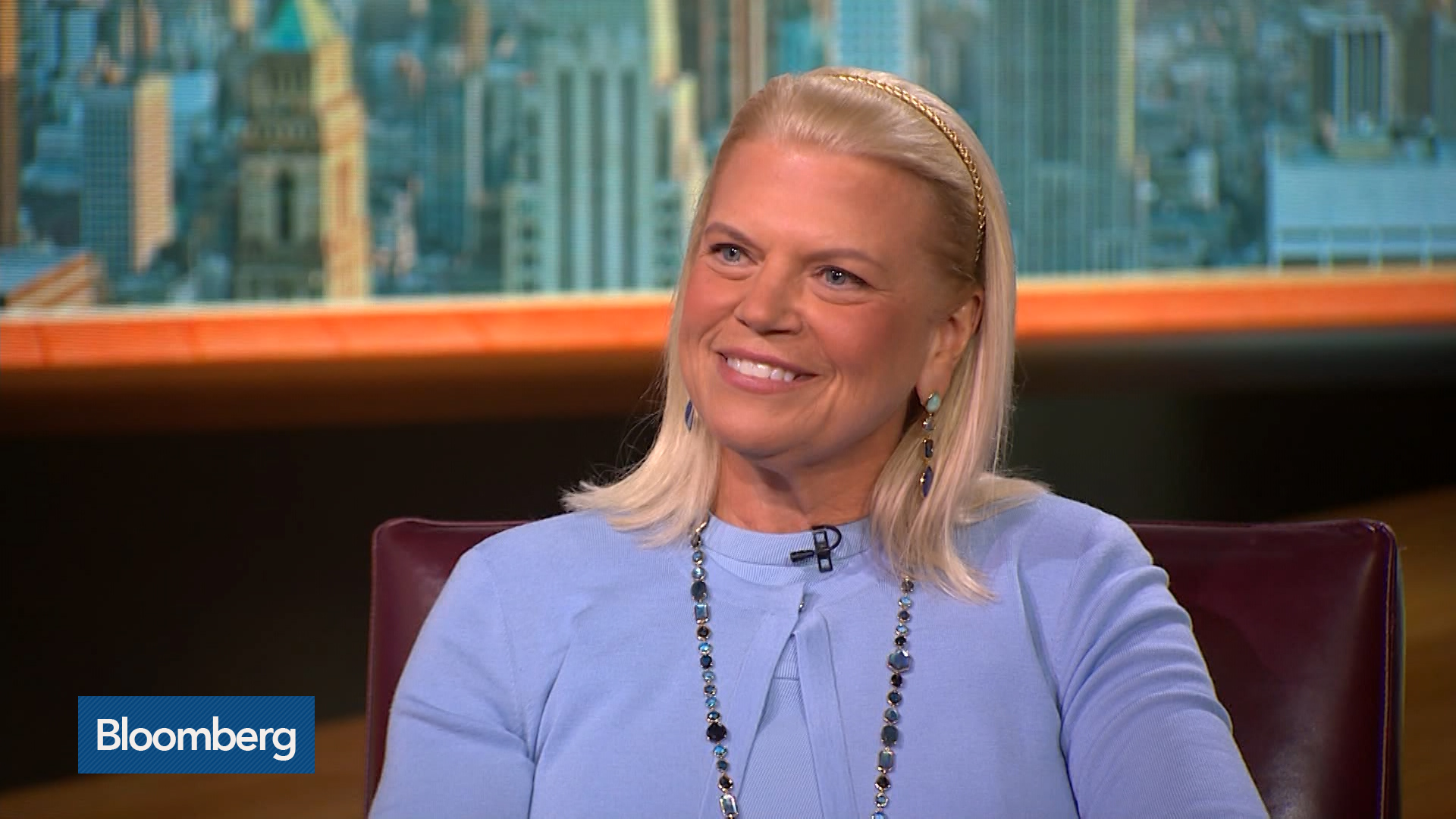IBM CEO Ginni Rometty on Quantum Computing, Blockchain