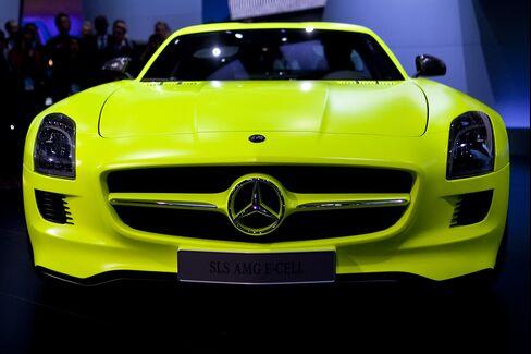 Mercedes Makes Super Bowl Debut