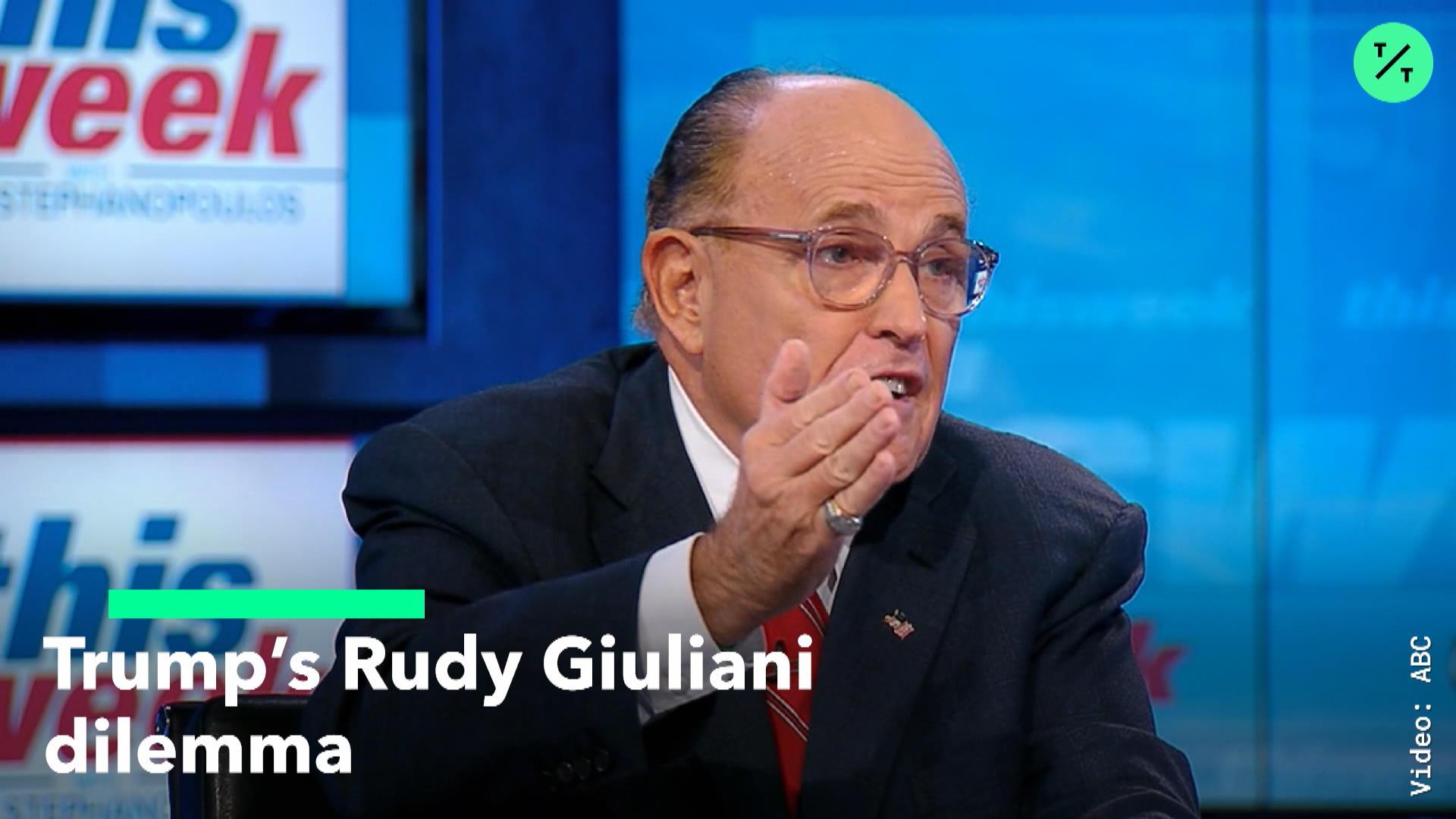 Trump Faces Giuliani Dilemma