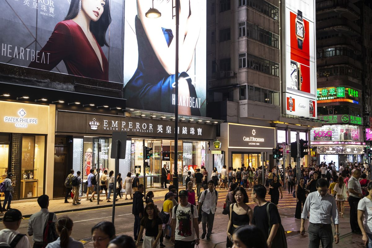 bloomberg.com - Eric Lam - Hong Kong Retail Slide Continued in August Amid Restrictions