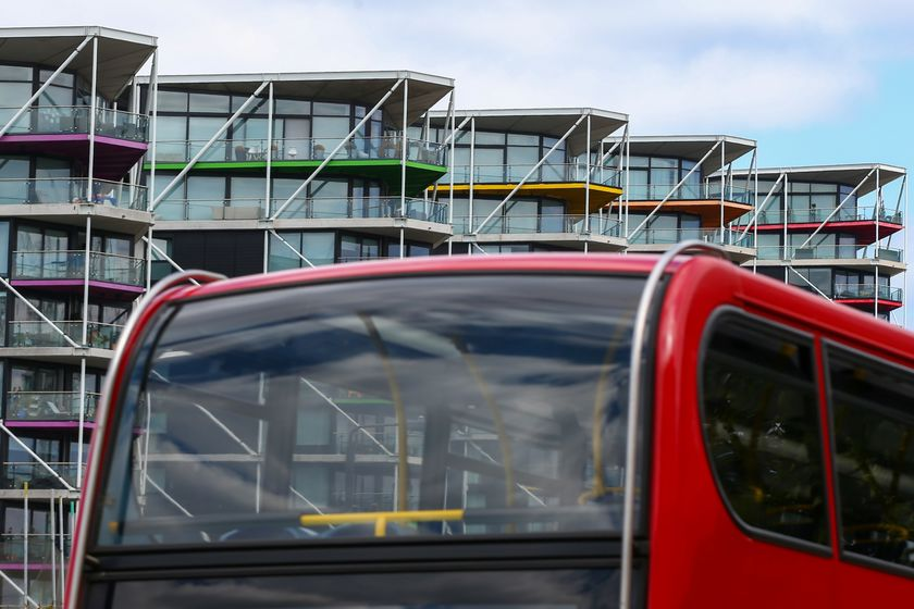 London Luxury Property as Virus Hits Sales