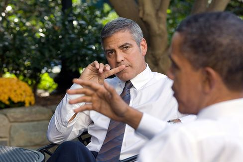 Obama Tests New Gay Marriage Stance With Donors, Clooney