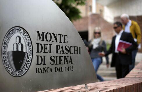 Monte Paschi Has Fourth Straight Quarterly Loss as Revenue Drops