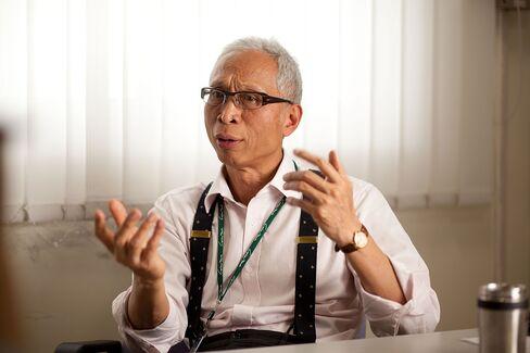 Foxconn Spokesman Louis Woo