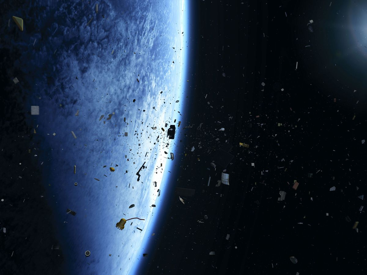 Earth's Orbiting Junkyard Threatens the Space Economy