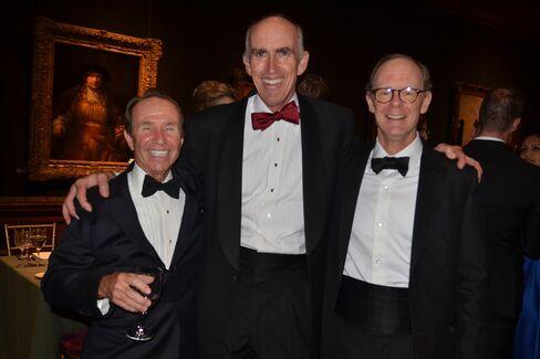 Ed Hyman, Dick Cashin and J. Christopher Flowers