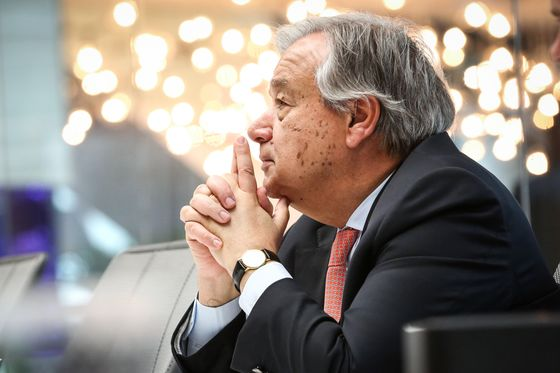 UN Chief Calls for End to Coal Investment, Seeks Climate Pledges