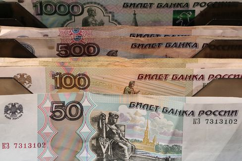 Russian Rouble Banknotes