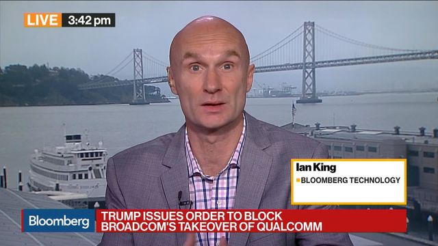 Broadcom's proposed Qualcomm $140 billion bid blocked on security grounds