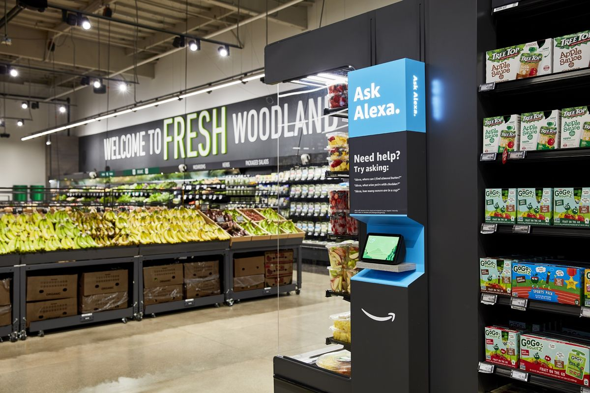 Amazon Quietly Began Building a Grocery Chain During Pandemic