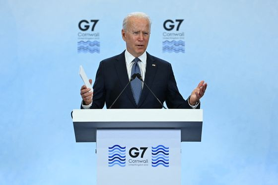 Biden Gets G-7 Reset After Win on Vaccines, Tension Over China