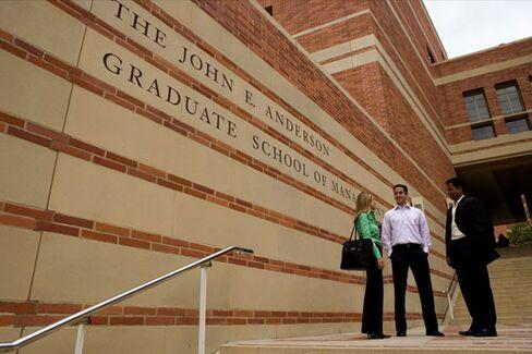 UCLA MBA Moves Toward Self-Sufficiency