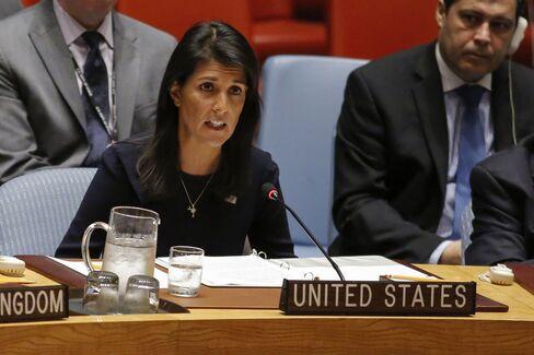 ヘイリー米国連大使(9月4日)