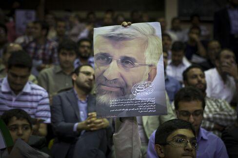 Iran's Nuclear Negotiator Saeed Jalili