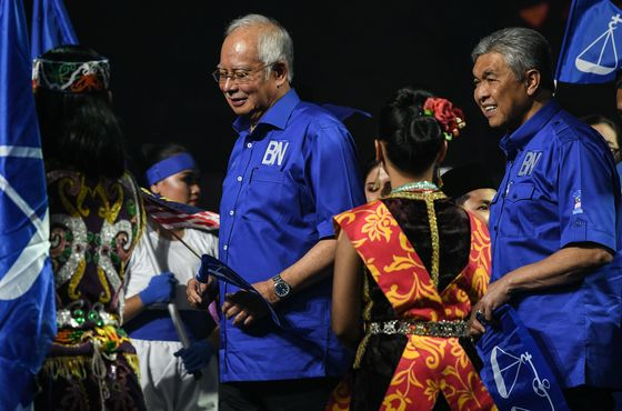 Najib's Party Picks Ahmad Zahid to Lead Malaysian Opposition