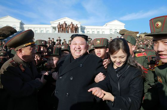 Kim Jong Un's Wife ReappearsAfter Unusual One-Year Absence