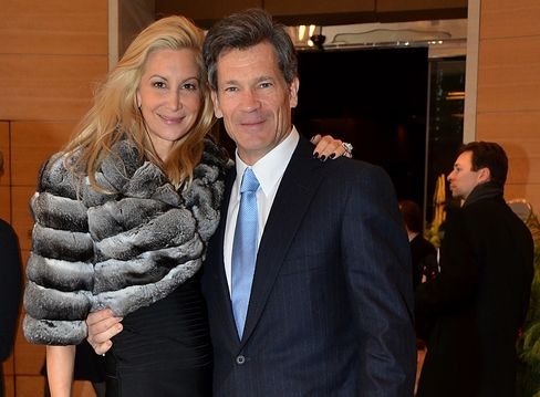Moore CEO Louis Bacon and wife Gabrielle
