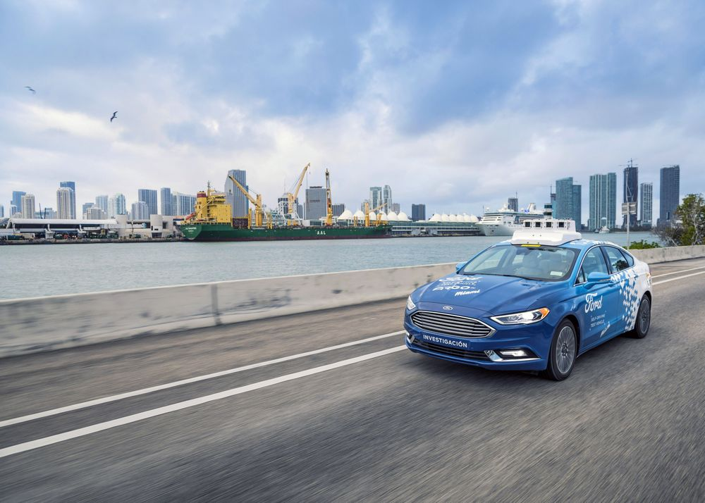 Ford Is Curly Testing Its Autonomous Vehicles In Miami
