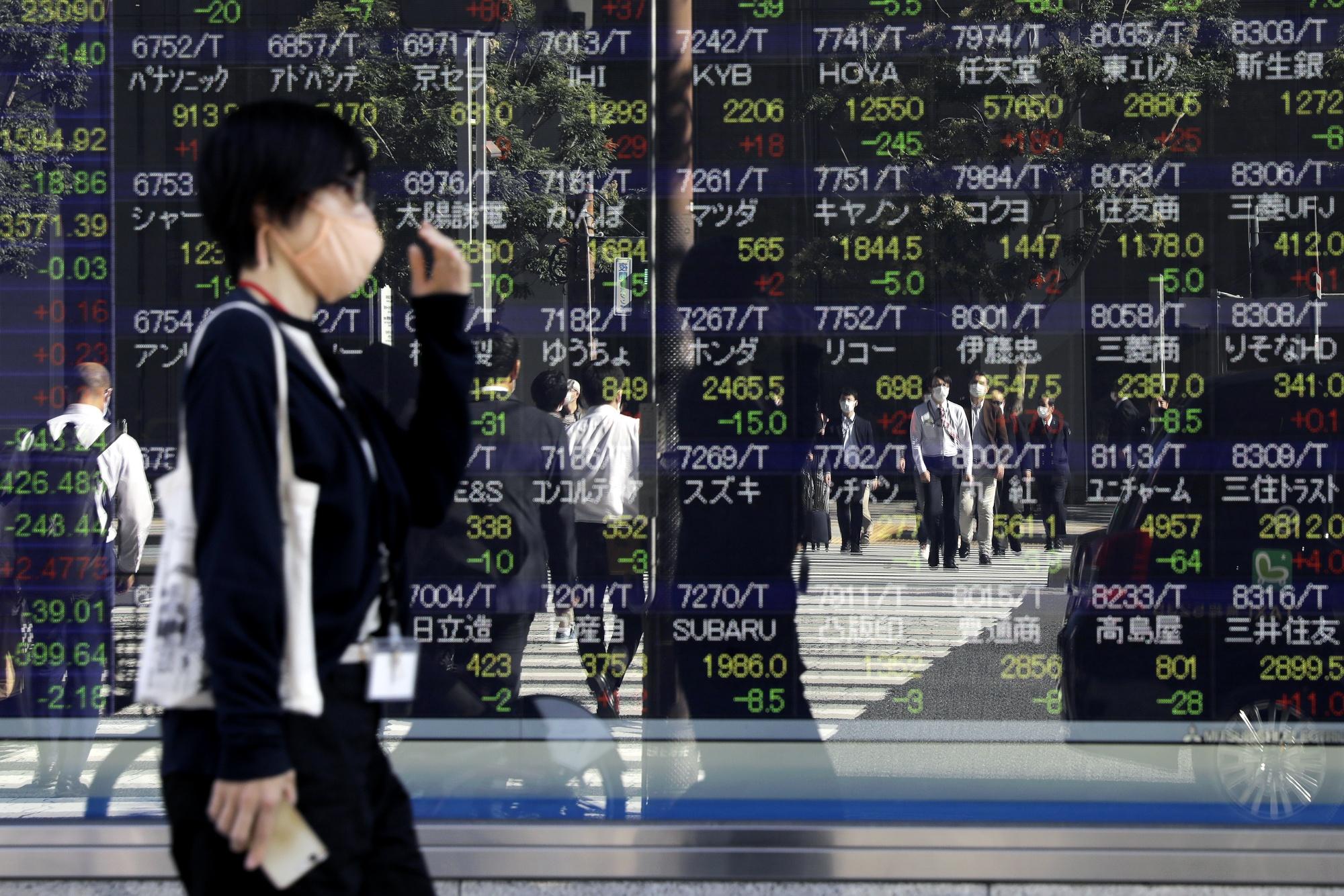 Asia Stocks Beat the World as Resurgent Virus Hurts U.S., Europe
