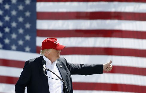 Republican Presidential Candidate Donald Trump Holds Rally In Phoenix