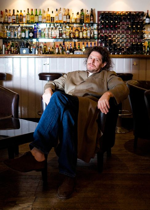 Marco Pierre White, pictured here in 2009, was the U.K.'s first rock-star chef.