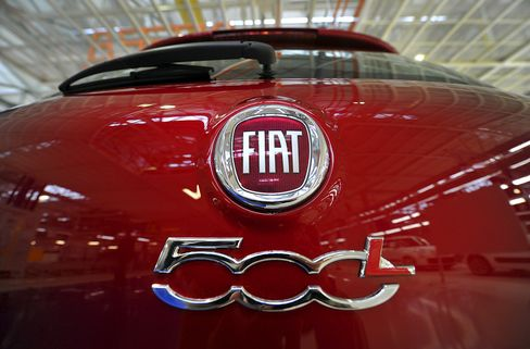 Fiat Said to Trim 20% of Management Jobs in Europe