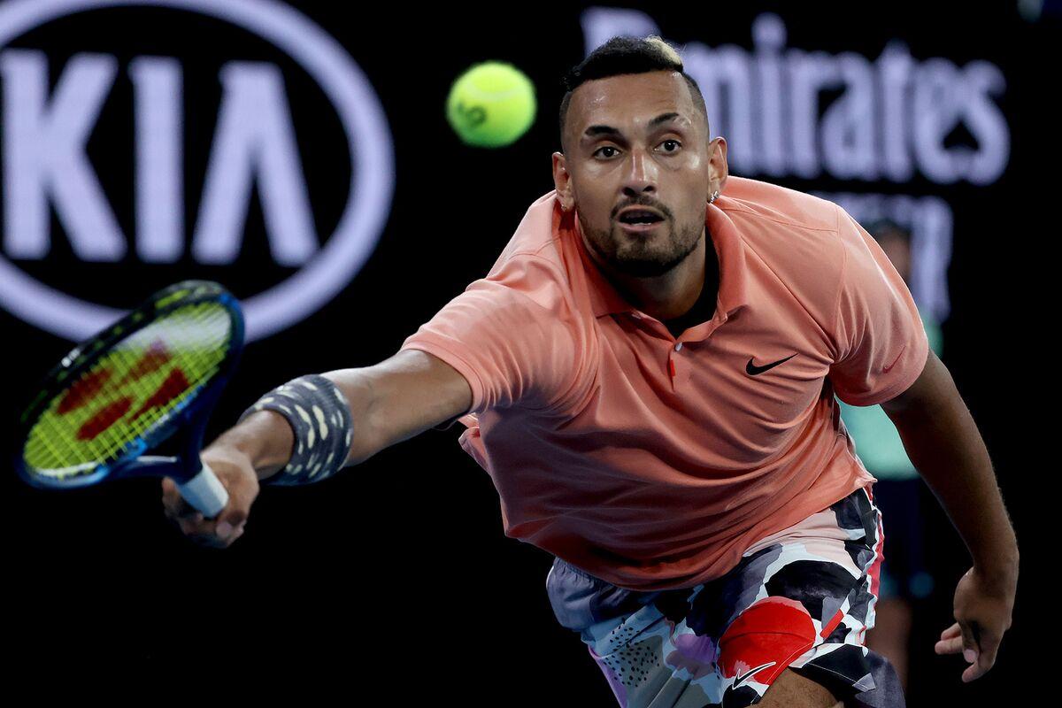 Kyrgios Sets Nadal Grudge Match in Australia After Five-Set Thriller