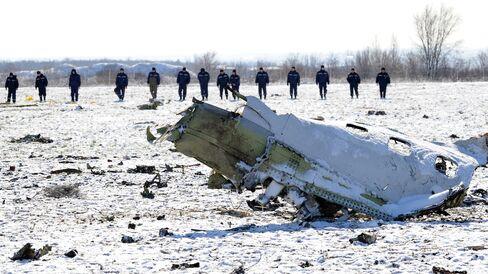 TOPSHOT-RUSSIA-UAE-AVIATION-ACCIDENT-FLYDUBAI