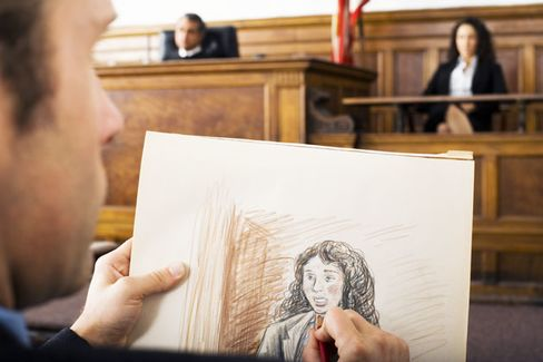 At Apple E-Book Trial, Pen and Paper Rule the Courtroom