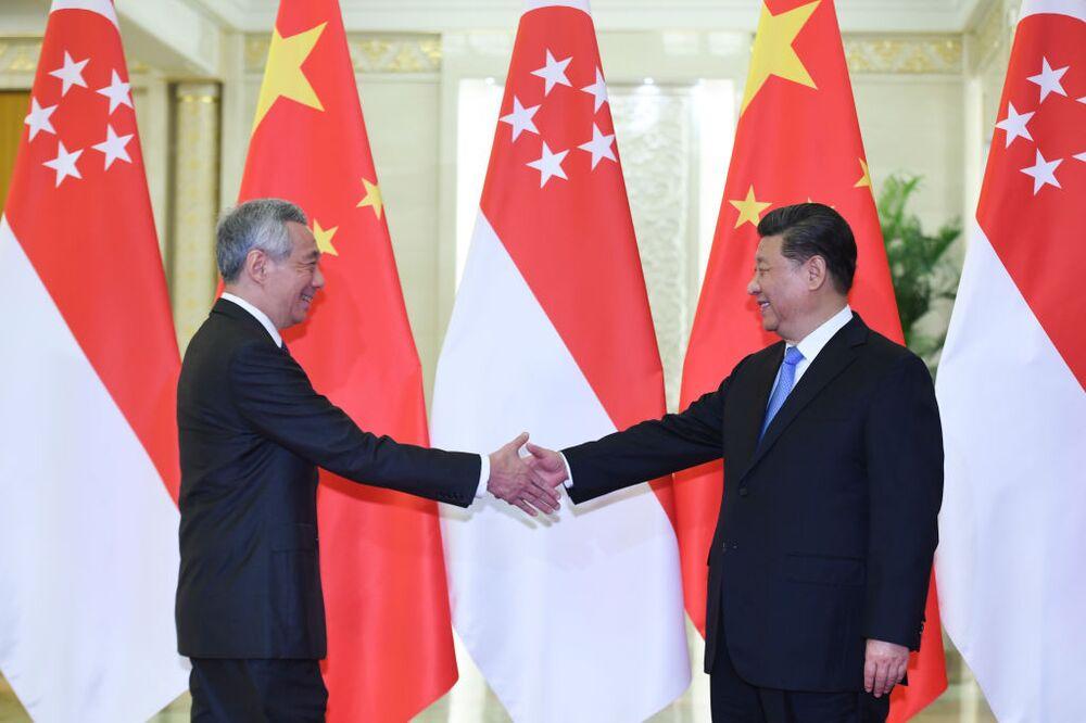 China making nice with Singapore.