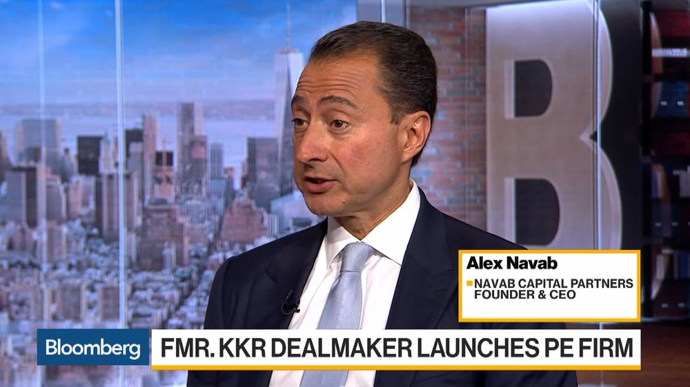 Former KKR Dealmaker Alex Navab Starts a Private Equity Firm