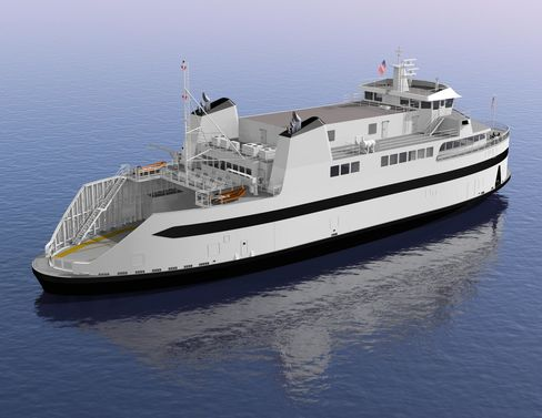 Rendering of New Ferry