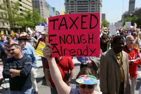 Too Much Tax Talk