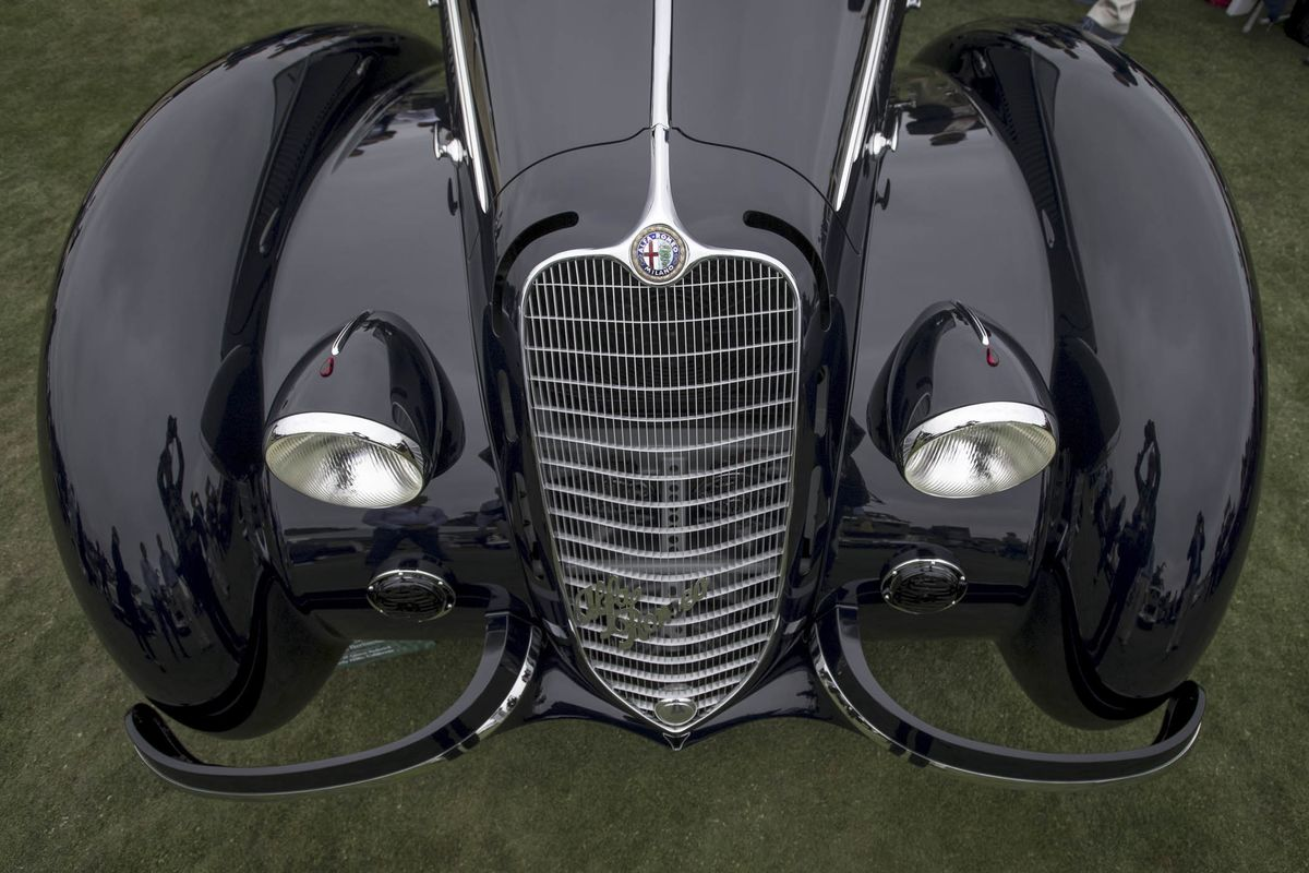 Concours D Elegance >> 368 Million Of The World S Finest Cars Inside The 2018