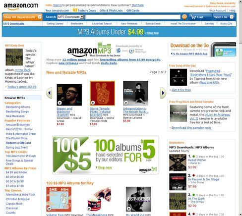 Amazon.com Outpaces Apple