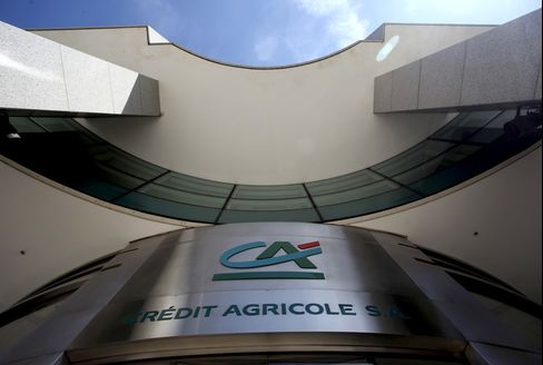Credit Agricole Posts Record Fourth-Quarter Loss