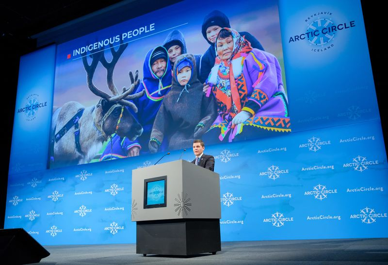 Crown Princess Victoria Of Sweden attends The Arctic Circle Assembly