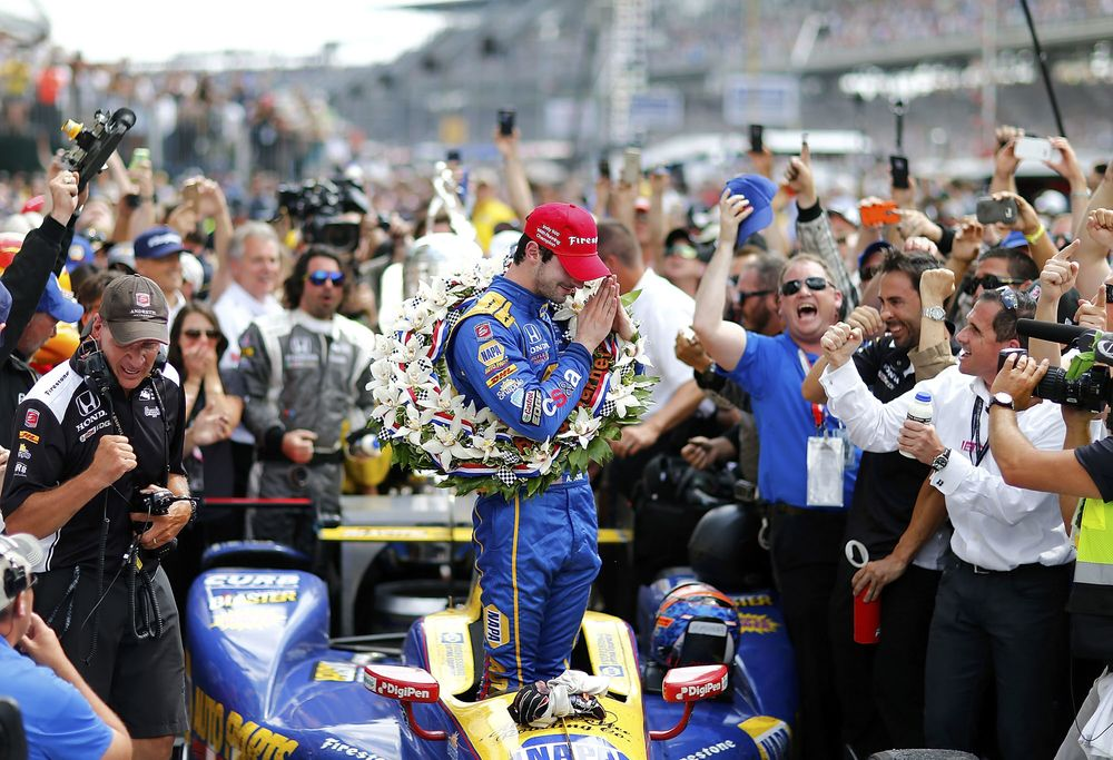 9ea20a0733 Alexander Rossi Is American Racing's Next Big Thing - Bloomberg
