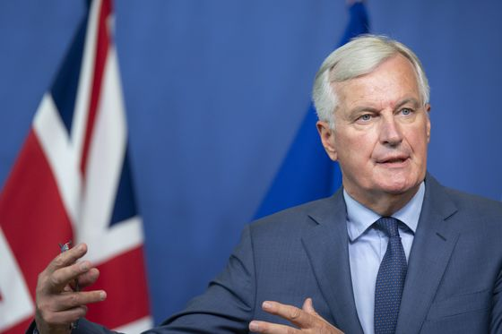 EU's Barnier Puts Positive Spin on Theresa May's Brexit Plan