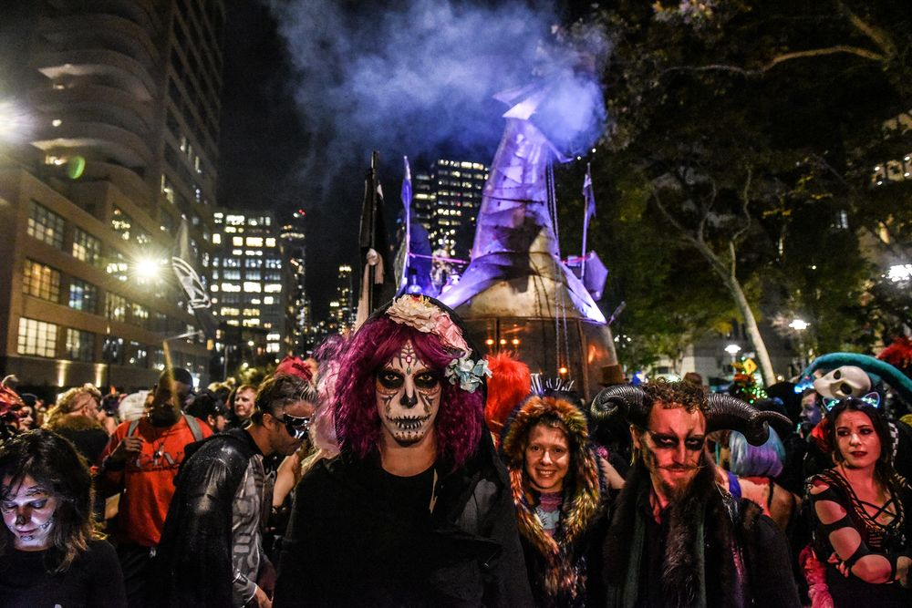 New York City Halloween 2020 Will Halloween Trick or Treating Spread Covid 19?   Bloomberg