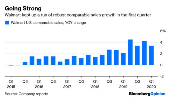 Walmart Fends Off Amazon by Playing to Its Strengths