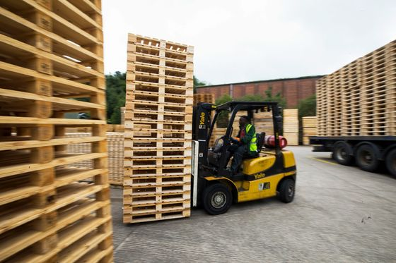 The Forgotten Shipping Pallet Stages a Pandemic-Era Rally