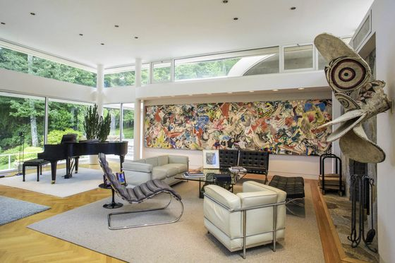 A MoMA Curator's Art-Filled Mansion Is On Sale for $6.5 million