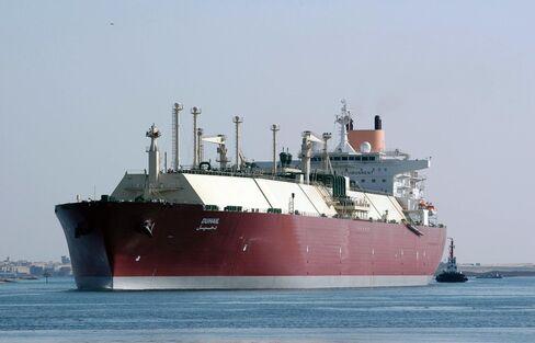 Qatari LNG Tanker