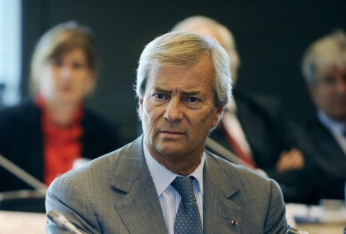 Vivendi Shareholder Vincent Bollore